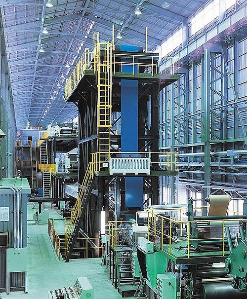 continuous coil coating line ccl chugai ro co ltd